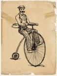 A biciklis futár gyors
