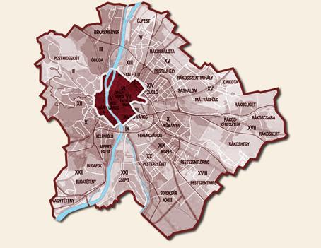 budapest kerület térkép Pikk Pakk kerékpáros gyorsfutár Budapest » Első körzet budapest kerület térkép